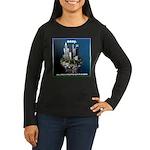 easy Women's Long Sleeve Dark T-Shirt
