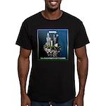 easy Men's Fitted T-Shirt (dark)