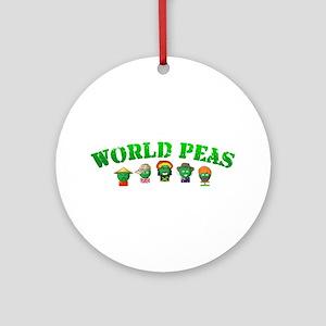 World Peas Ornament (Round)