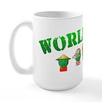 World Peas Large Mug