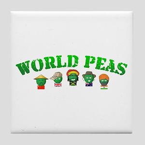 World Peas Tile Coaster