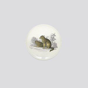American Indian Dog Mini Button