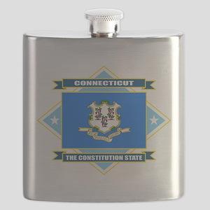 Connecticut diamond Flask