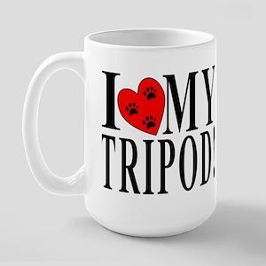 I Love My VAS Tripod Large Mug
