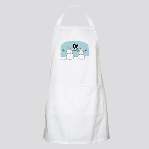 Border Collie Holiday Apron