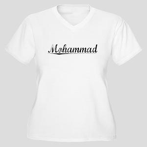 Mohammad, Vintage Women's Plus Size V-Neck T-Shirt