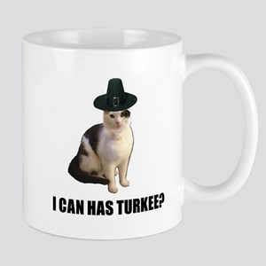 Thanksgiving Turkey Lolcat Mug