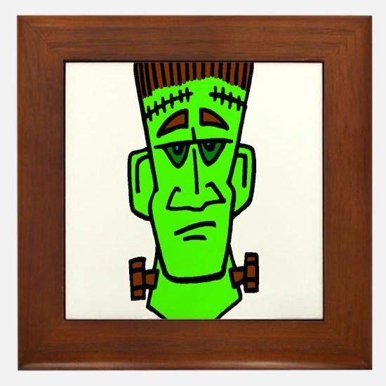 Frankie Monster Framed Tile