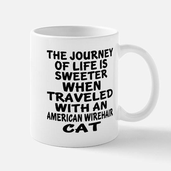 Traveled With american wirehair Mug