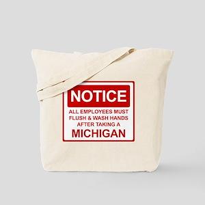 Flush Michigan Tote Bag