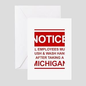 Michigan greeting cards cafepress flush michigan greeting cards pk of 20 m4hsunfo Images