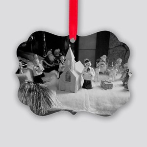 Land of Xmas Giants Picture Ornament