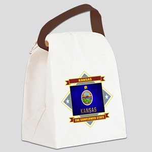 Kansas diamond Canvas Lunch Bag