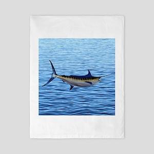 Blue Marlin on Water Twin Duvet