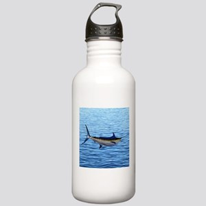 Blue Marlin on Water Stainless Water Bottle 1.0L