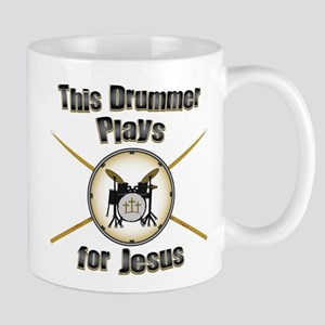 Drum for Jesus Mug