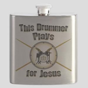 Drum for Jesus Flask