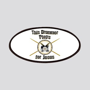 Drum for Jesus Patches