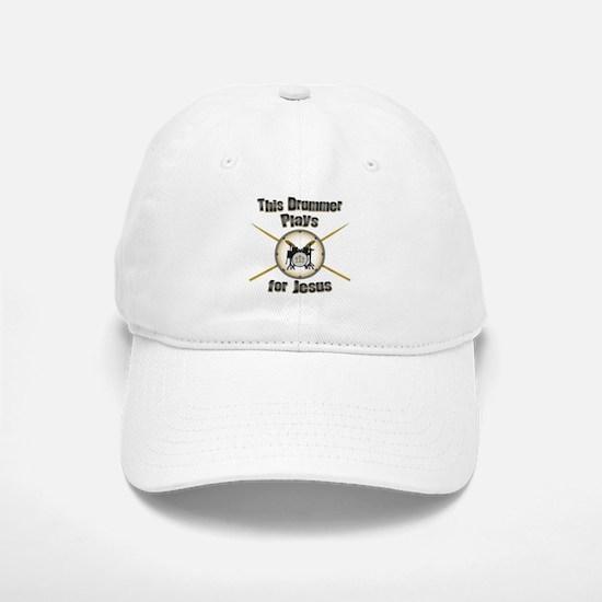 Drum for Jesus Baseball Baseball Cap