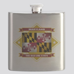 Maryland diamond Flask