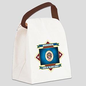 Minnesota diamond Canvas Lunch Bag