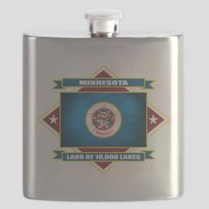 Minnesota diamond Flask