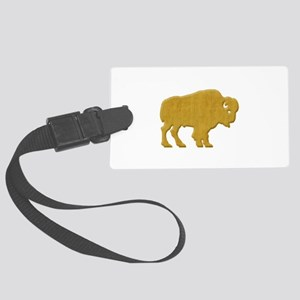 American Bison Large Luggage Tag