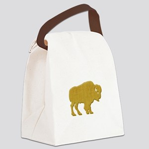 American Bison Canvas Lunch Bag