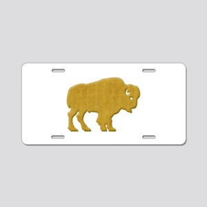 American Bison Aluminum License Plate