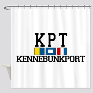 Kennebunkport ME - Varsity Design. Shower Curtain