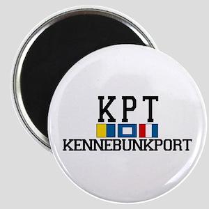 Kennebunkport ME - Varsity Design. Magnet