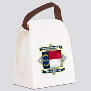 North Carolina diamond Canvas Lunch Bag