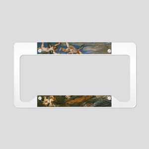 Rubens Vintage Painting License Plate Holder