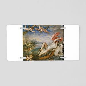 Rubens Vintage Painting Aluminum License Plate