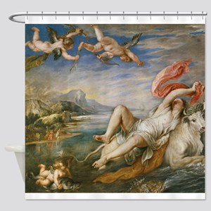 Rubens Vintage Painting Shower Curtain