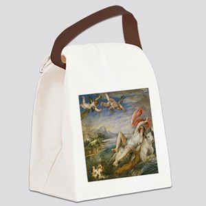 Rubens Vintage Painting Canvas Lunch Bag