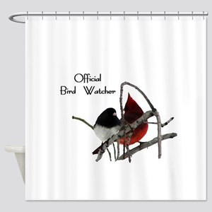 Odd Birds Official Bird Watcher Shower Curtain