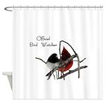 Odd Birds Official Bird Watcher Shower Curtain