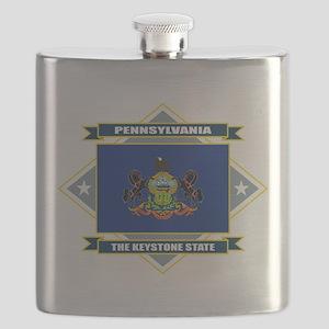 Pennsylvania diamond Flask