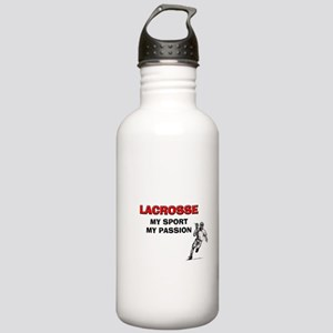 Lacrosse My Sport My Passion Stainless Water Bottl