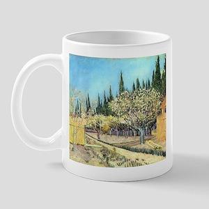 Van Gogh Flowering Fruit Garden Mug