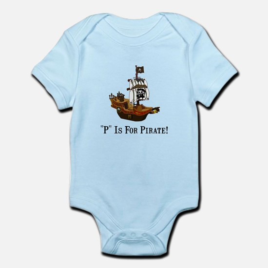 P Is For Pirate Body Suit