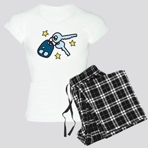 Car Keys Women's Light Pajamas