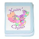 Xuan'en China baby blanket