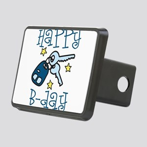 Happy B-day Rectangular Hitch Cover