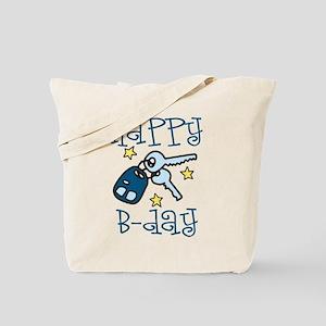 Happy B-day Tote Bag