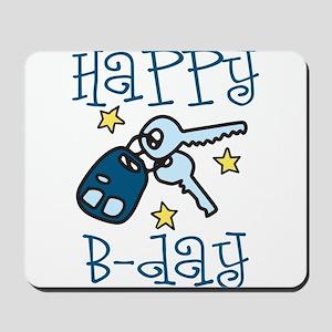 Happy B-day Mousepad