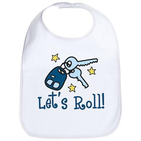 Lets Roll Bib