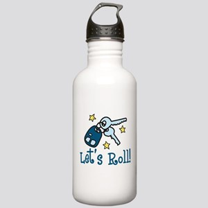 Lets Roll Stainless Water Bottle 1.0L