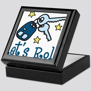 Lets Roll Keepsake Box